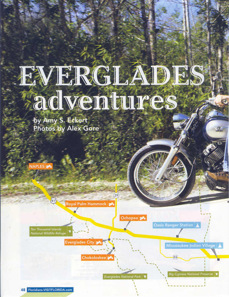 Everglades by Motorcycle