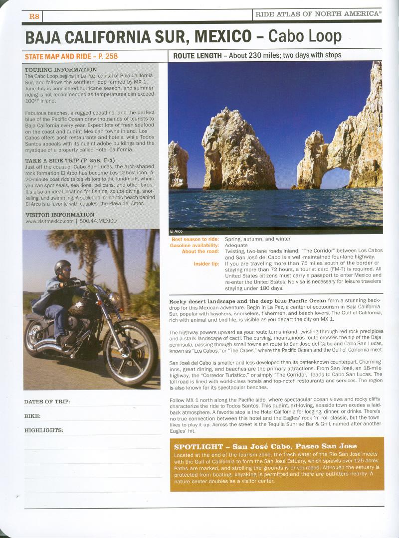 Harley Atlas - Baja California Sur