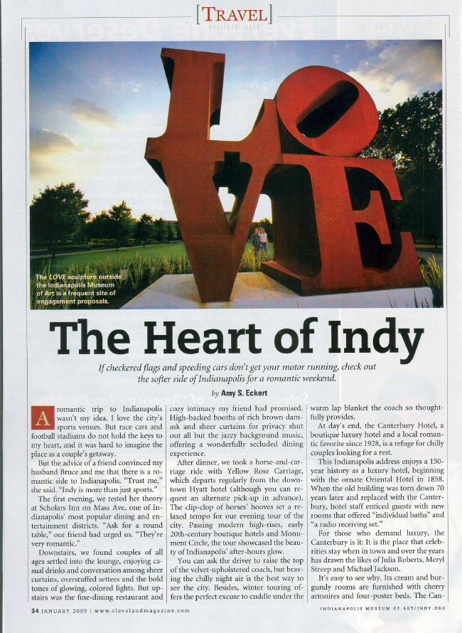 The Heart of Indy