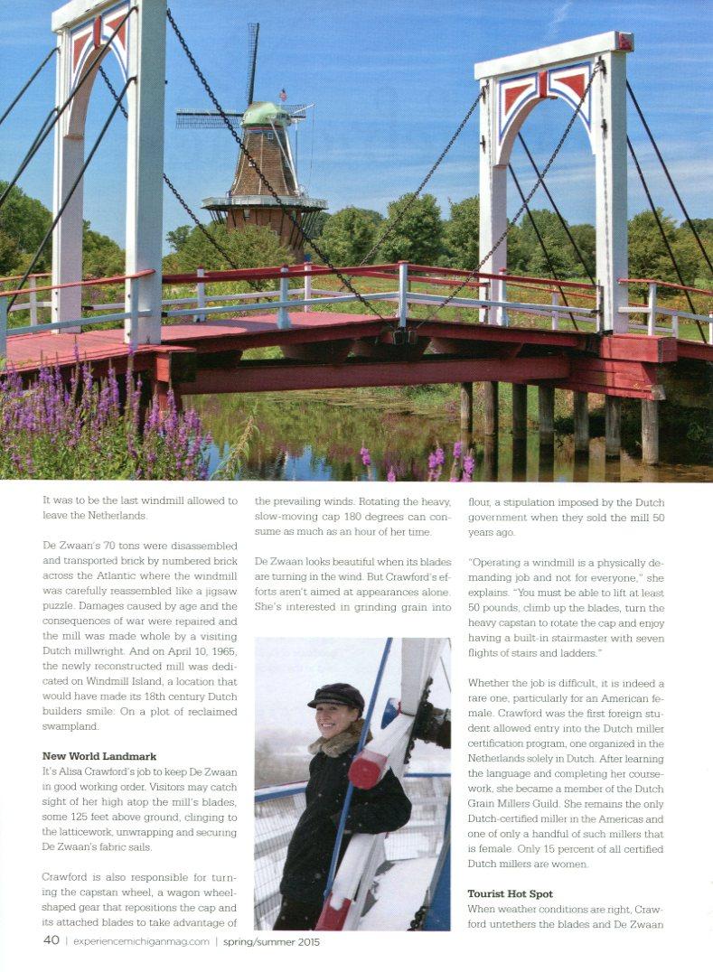 De Zwaan Windmill, Holland, Michigan
